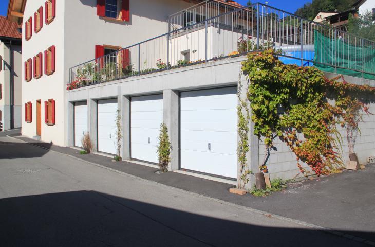 Hochbau Garage Willi Hoch- und Tiefbau AG Schiers Fanas