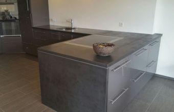 Beton-Küche