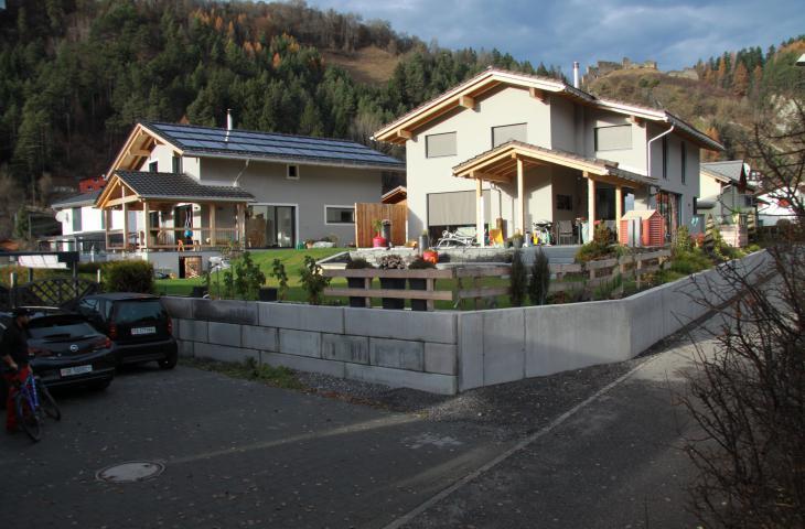 Hochbau Einfamilienhaus Willi Hoch- und Tiefbau AG Schiers Fanas