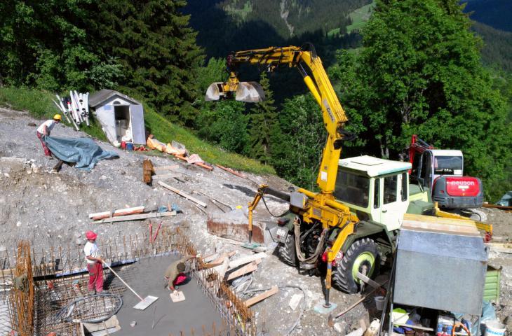 Tiefbau Menzi Muck Willi Hoch- und Tiefbau AG Schiers Fanas