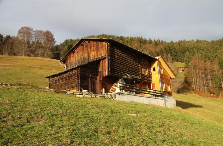 Umbau Maiensäss Willi Hoch- und Tiefbau AG Schiers Fanas